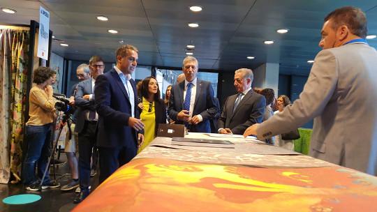 Diecisiete compradores de 14 países conocen la oferta valenciana en la Feria Home Textiles invitados por Ivace Internacional