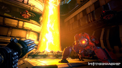 Mothergunship Game Screenshot 1