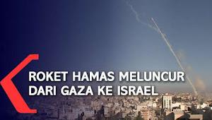 Roket Rakitan Militan Palestina di Gaza Membuat Israel Kalang Kabut