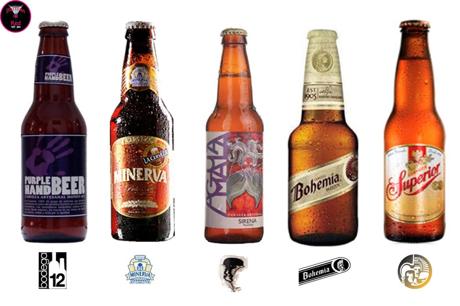 cervezas mexico