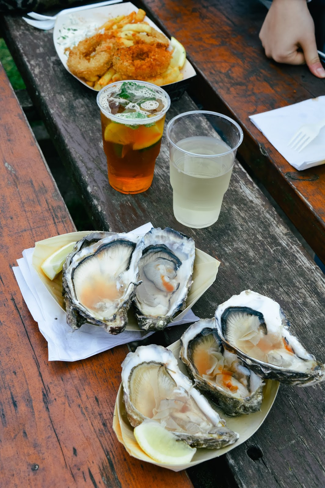 Mudeford Seafood Festival Review | Seafood and drinks