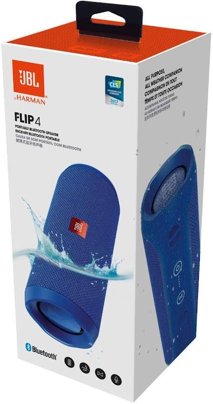 JBL Flip 4 Speaker with full box