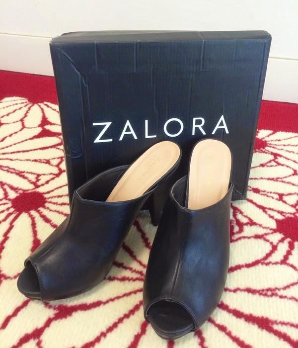 Wansteddy Tales: ZALORA Platform Slip On Mules