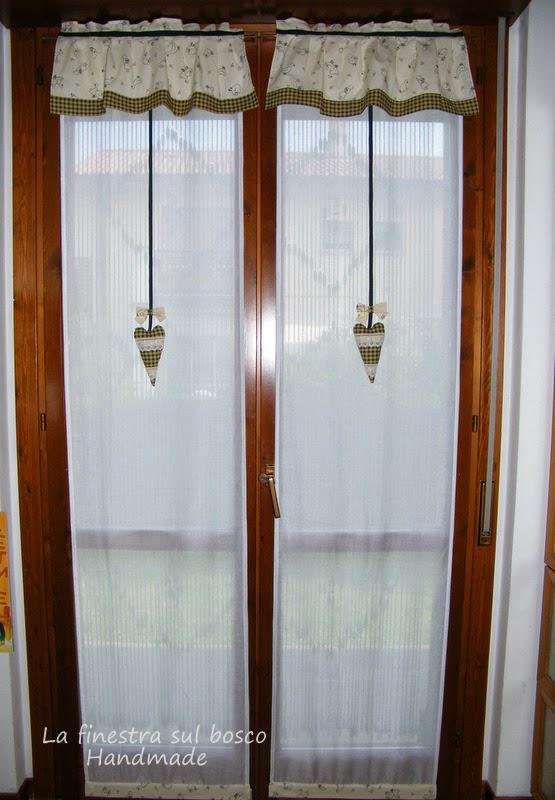 La finestra sul bosco Handmade Tende country fai da te rinnoviamo la cucina
