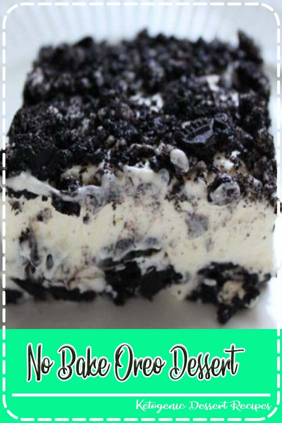 If your family is anything like my family No Bake Oreo Dessert