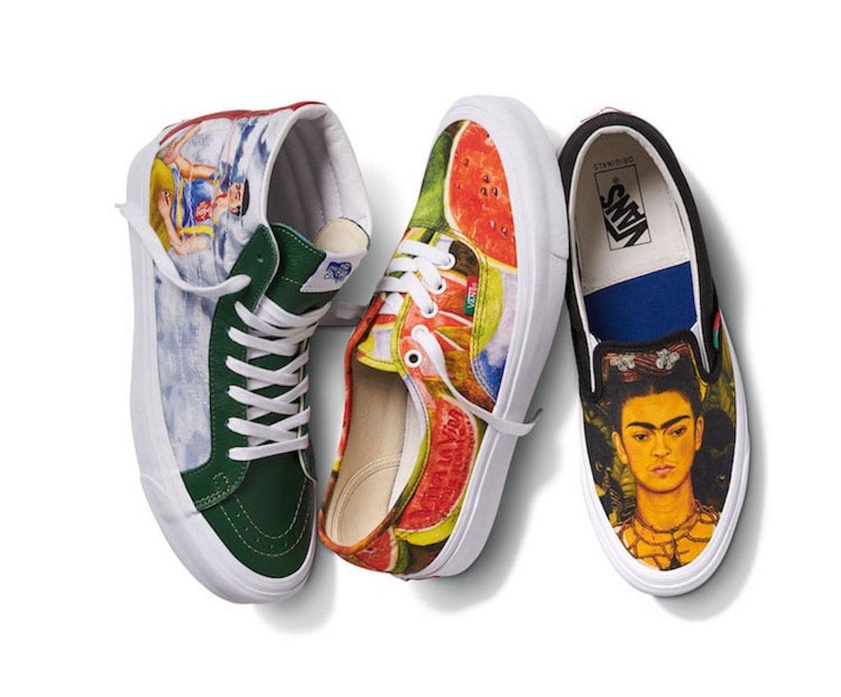 Vans-colección-inspirada-en-Frida-Kahlo-famosas-pinturas