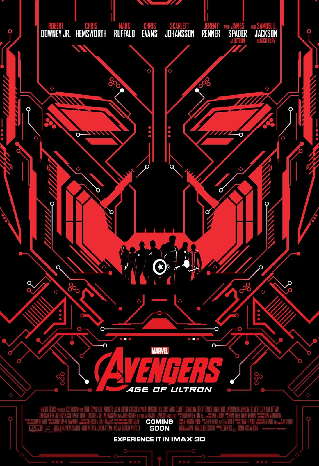 Avengers: Age of Ultron - Final Trailer & IMAX Posters