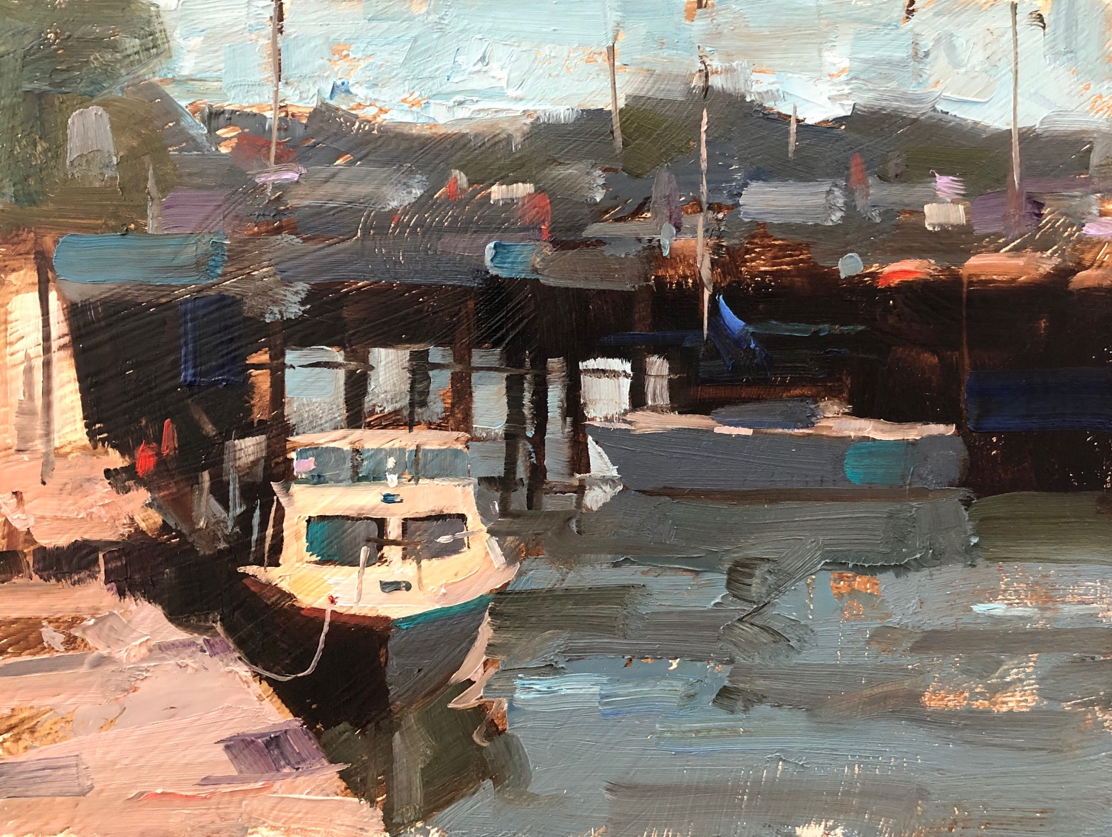Qiang Huang, demo | Painting still life, City scape
