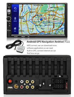 autoradio 8702 con gps e android 7.1