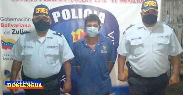 Militante Madurista cayó preso por golpear y abusar a su propia hija de 12 años en Maracaibo