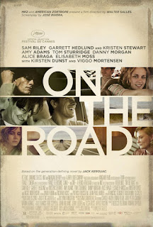 On the Road movie poster Kristen Stewart