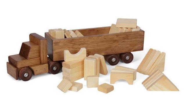 bahan kayu untuk membuat miniatur truk