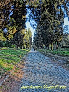 passeio via appia guia portugues - Via Appia Antiga, alguns detalhes históricos
