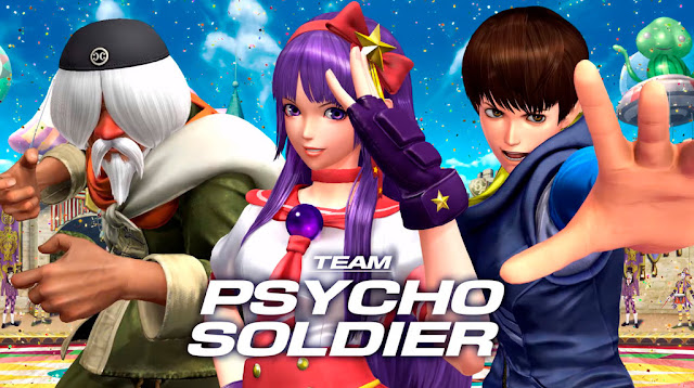 The King of Fighters XIV Team Psycho Soldier