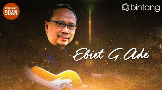 Ebiet G Ade Mp3 Legendaris dan Terbaru - Download Lagu Mp3