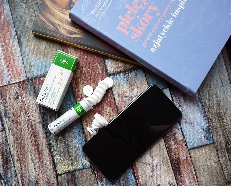 GeloVox tabletki łagodzące podrażnienia gardła