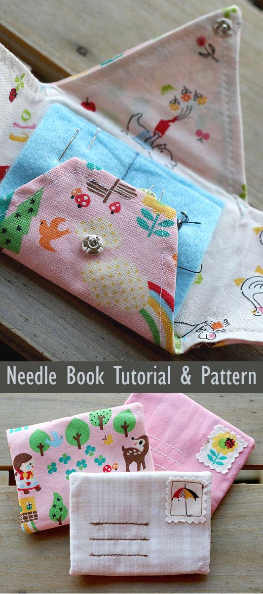 Little Letter Needle Book Tutorial