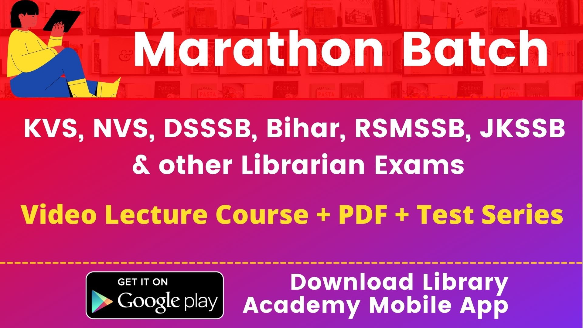 Library Academy App