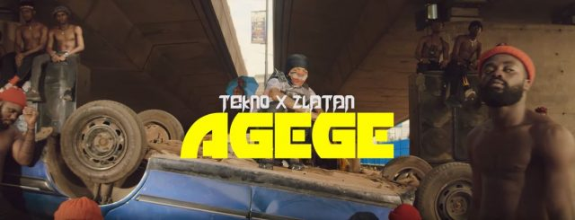 VIDEO: Tekno Ft Zlatan - Agege (Official Mp4). || DOWNLOAD