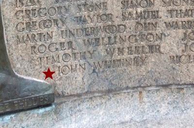 John Whitney Watertown Founders Memorial