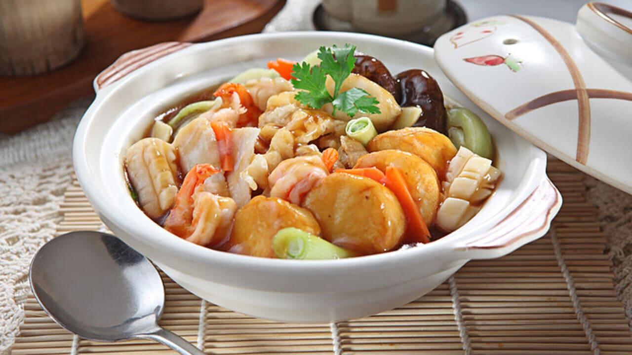 Resep Masakan Sapo Tahu Seafood
