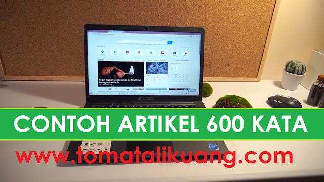 contoh artikel 600 kata tomatalikuang.com