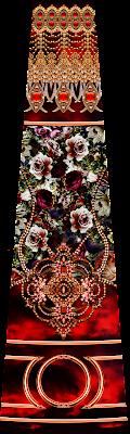 digital textile design blouse