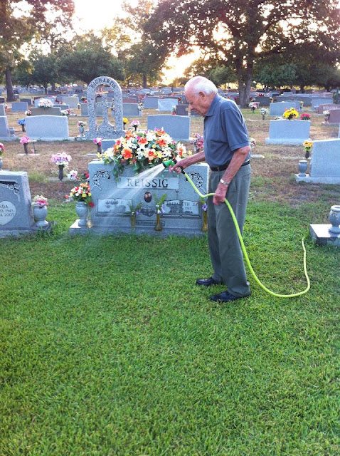 He Waters His Wife's Grave Twice A Day And When He Saw A Woman Crying On A Dirty Grave, He Chose To Do THIS! This Will Melt Your Heart!