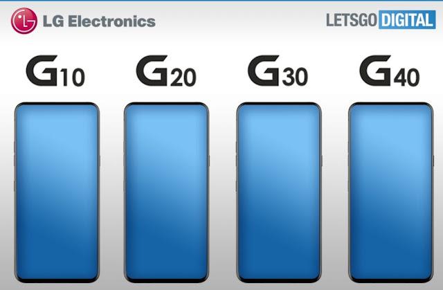 إل جى تطلق أربعة هواتف ذكية من سلسلة G
