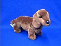 douglas red dachshund plush stuffed animal gretel