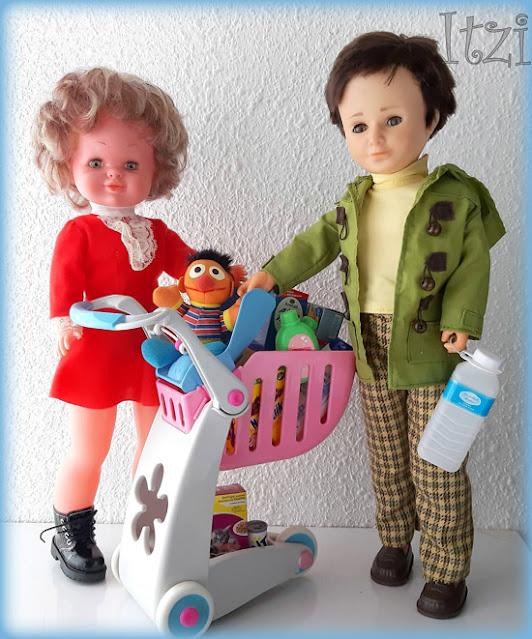Bambinela de Esvi y Lucas de famosa