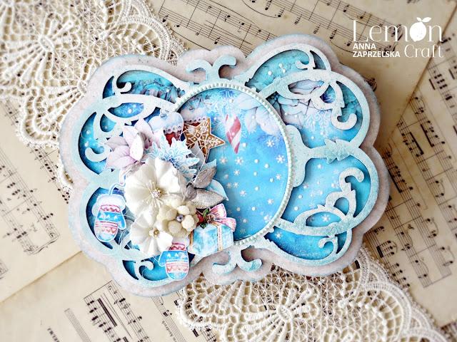 Świąteczne kolory w scrapbookingu - kolor niebieski na Boże Narodzenie