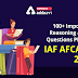 100 +Important Reasoning and Mental Ability Questions PDF for IAF  AFCAT 2 2021