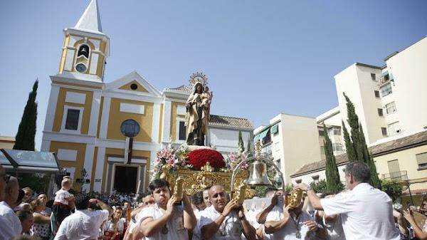 Coronavirus: Comienzan a suspender las procesiones de la Virgen del Carmen en Málaga