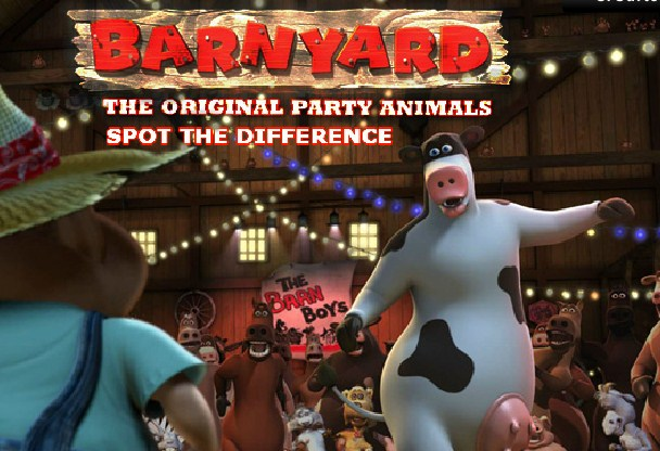 Barnyard Spot The Difference game