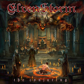 "Το τραγούδι των Elvenstorm ""Devil Within"" από το album ""The Conjuring"""