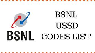 BSNL Prepaid & Postpaid USSD Codes List