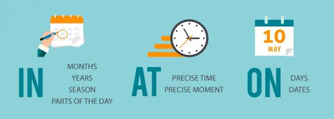 """Tips Menggunakan """"In"""" untuk Keterangan Waktu Bahasa Inggris"""