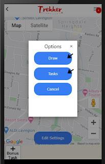 Sample trek pin options