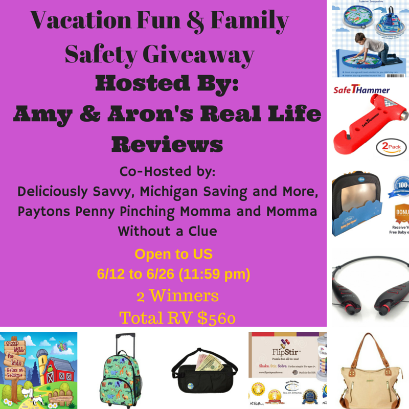 Just For Fun Twitter Giveaway By: Vacation Fun & Family Safety #Giveaway Ends 6/26