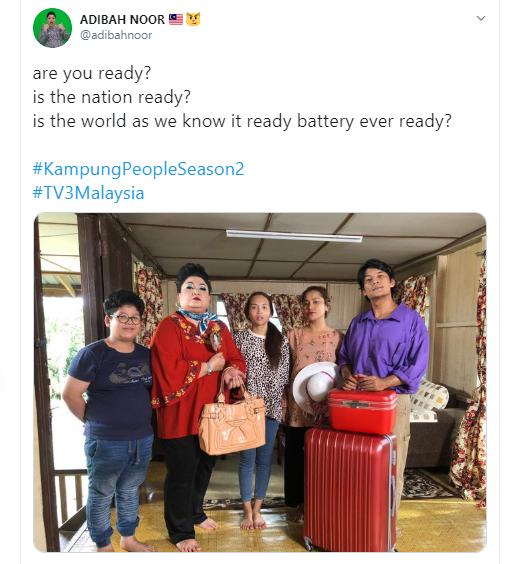 kampung people musim kedua akan ditayangkan pada september 2020