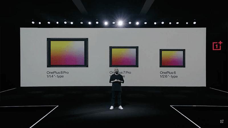 Biggest sensor on a OnePlus smartphone yet