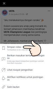 Downlod video di fb