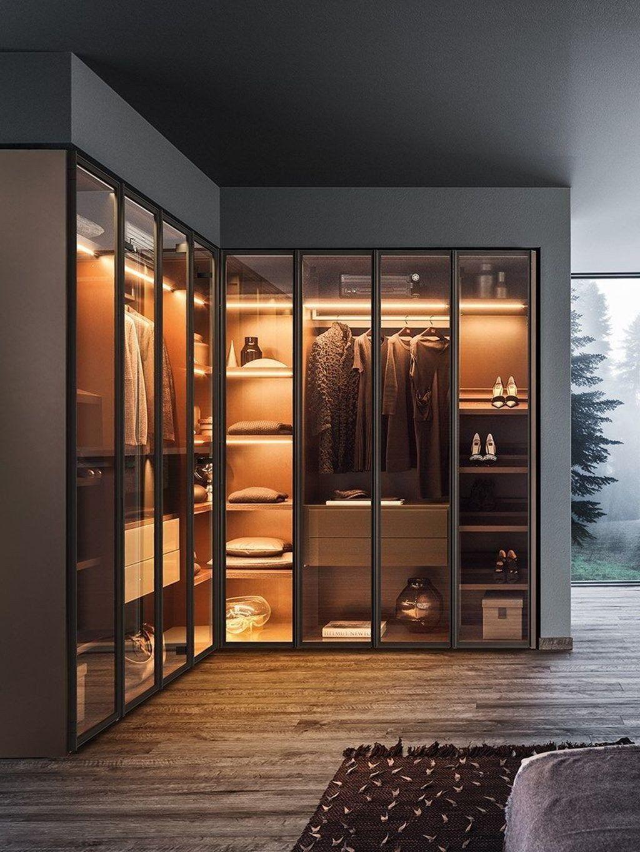 Phòng ngủ có tủ âm tường 20