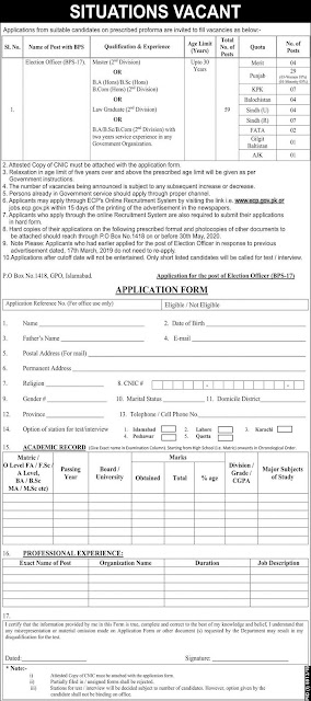 Election Officer Latest Government Jobs Apply Online Now