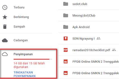 Cara Mengatasi Limit Google Drive Dengan Menghapus File Tidak Penting