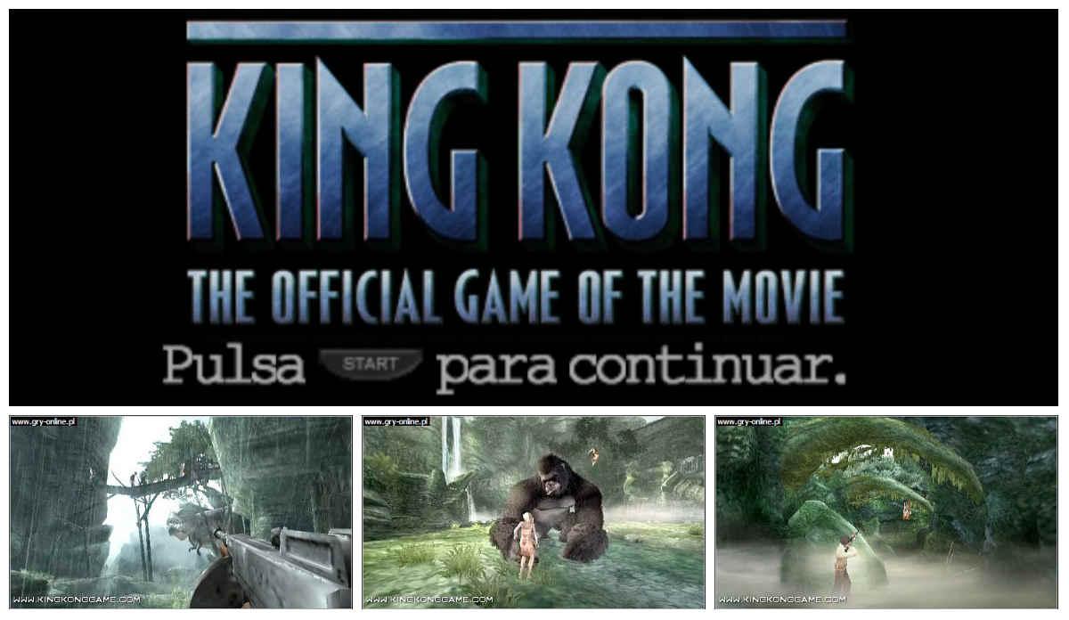 Peter Jackson's King Kong PSP Español
