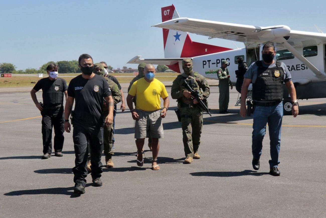 Fugitivo, homem que matou casal ambientalistas é preso e transferido para Belém