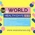 World Health Days Calendar 2021-Health Day List 2021