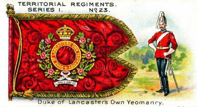 Army Service Numbers 1881-1918: Duke of Lancaster's Own